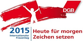 Logo internationaler Frauentag 2015