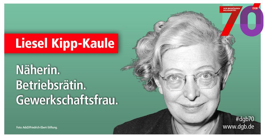 Porträt Liesel Kipp-Kaule