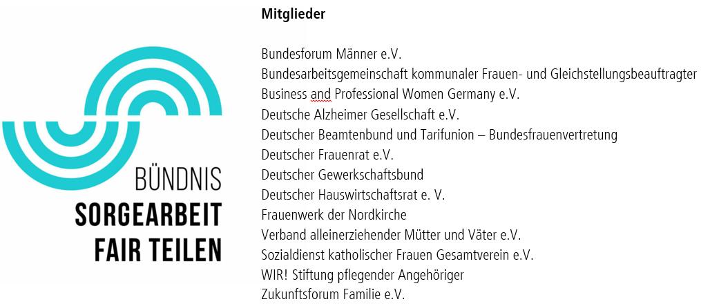 Logo Bündnis Sorgearbeit Fairteilen