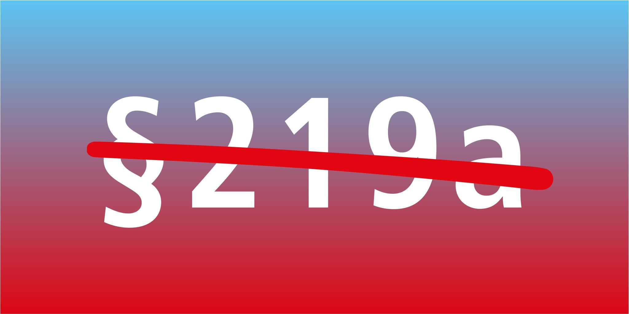 § 219a StGB durchgestrichen