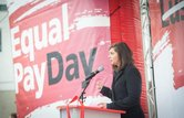 Equal Pay Day Kundgebung 2016